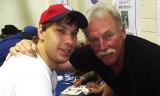 Bob Ballard with Yankee Great  Sparky Lyle