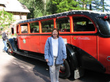 Margaret and Big Red Bus.jpg