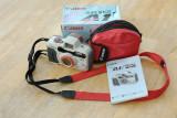 Canon Sureshot A1 Water Resistant 35mm Camera & Case