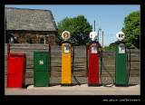 Petrol Pumps, Black Country Museum