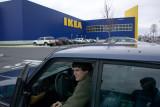 Volvos at Ikea