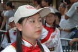A girl in float procession 02