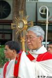 Bishop Joseph Zen and Monstrance 01