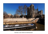 Barge and Notre Dame