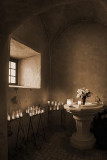 Chapel Candles 43728-31 Sepia