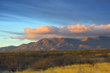 Whetstone Mountains At Sunrise 20060308