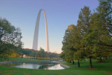 Gateway Arch At Sunrise 70603