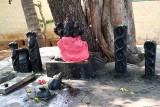 In a Kali temple near Salem. http://www.blurb.com/books/3782738