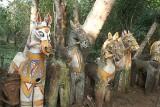 Terracotta horses in Namana Samudram. http://www.blurb.com/books/3782738