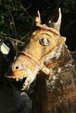 Terracotta horse in Namana Samudram. http://www.blurb.com/books/3782738