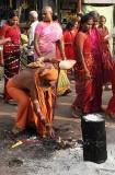In front of Samayapuram Mariamman temple, Tamil Nadu. http://www.blurb.com/books/3782738