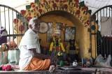 Small altar at Samayapuram Mariamman temple, Tamil Nadu. http://www.blurb.com/books/3782738