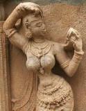 Sculpture at Ranganatha temple in Srirangam, Tamil Nadu.