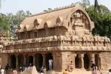 Rock temple in Mamallapuram, Tamil Nadu.