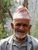 Man near Nagarkot, Nepal.