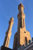 Soleil couchant sur le minaret