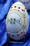 Oeuf incrusté de cristal de Swarovski