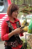 Préparation d'ananas