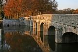 Chambord : Le pont sur le Cosson