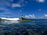 Surfing Guam