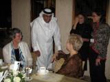 Smiling Sheikh (Sheikh Abdel-Rahman bin Saud al-Thani w/Lena Hjelm-Wallen & Swanee Hunt)