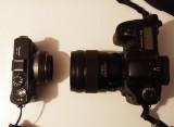 panasonic gf1+lumix 20mm f1.7 vs canon 5D+ef 35mm f 1.4 L