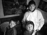 Roma children, Vanatori, Neamt