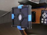 Collimator target holder