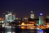 Luanda Bay at night