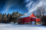 Winter in Hales Corners, Wisconsin