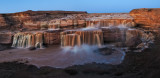 *Grand Falls of the Little Colorado River-Twilight Panorama*