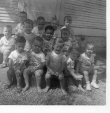 Larry and Doyle at Little Bo Peep Day Care Nov 1958.jpg