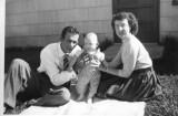 Dad Mom and Larry Nov 1954.jpg