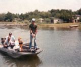 Larry Dad and Keith fishing at Cedar Creek year unknown.jpg