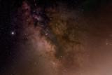Milky Way with Jupiter
