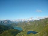 Lago Ritóm(achter) en Lago Cadagno(voor)