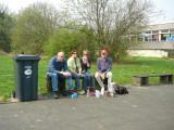 Rothaarsteig wandeling 14-4 t/m 21-4 2009