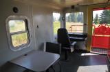 Inside CN Caboose