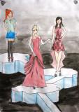 fashion show, Yinan, age:13