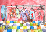 clothes shop, Hong Yu, age:6