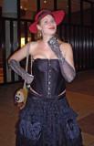 In costume
