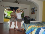 Dave & Linda in San Pancho, Nayarit, Mexico - 2007