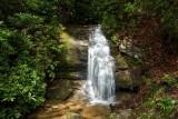 waterfall along Horsepasture Rd