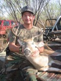 First deer of the season and Bob got 3 coons.