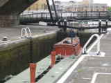 Commercial Road lock on the Regents Canal