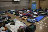 Part of teh sleeping accommodation at Kingsdown school