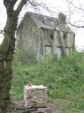 The derelict lock cottage