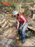 ... and Rachel can eventually learn how to lay bricks.