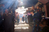 Morning in the souk