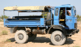 We spent about 5 hot, dusty hours on this blue beast on the trip to and from Tsimanampetsotsa